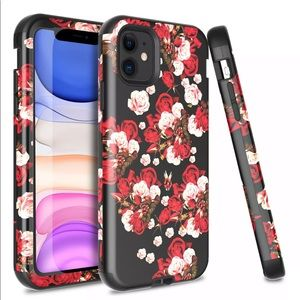 Red Rose For iPhone 11 Pro Max/XS/XR Case Luxury